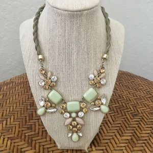 Beautiful Seafoam green stone Necklace